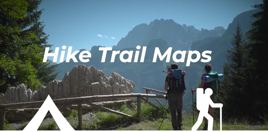 Hike Trail Maps - Dolomiti Hike&Camp
