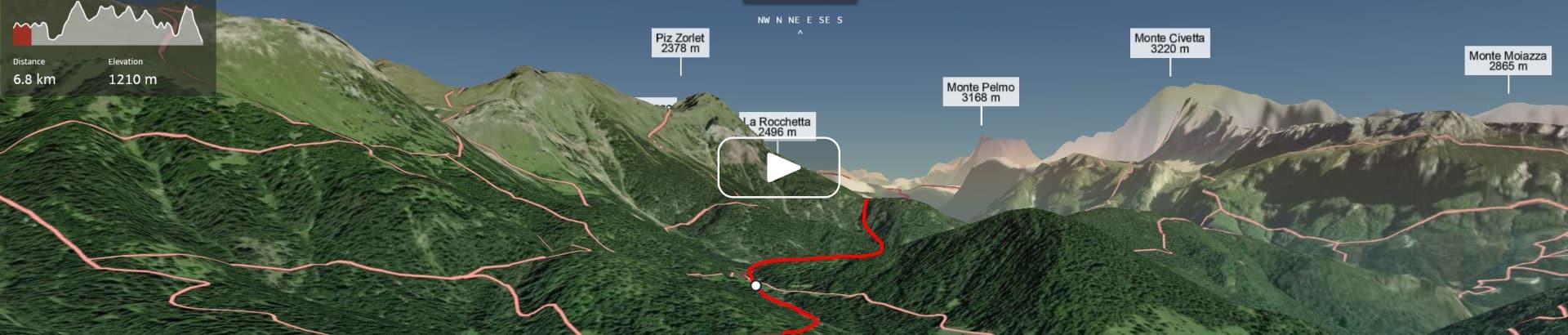 Dolomiti Hike & Camp Video 3D