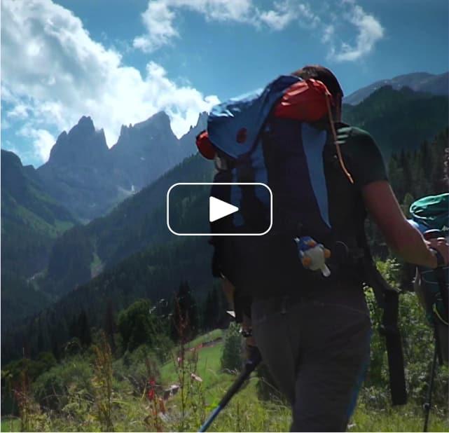 Dolomiti Hike & Camp Video Intro (Mobile)